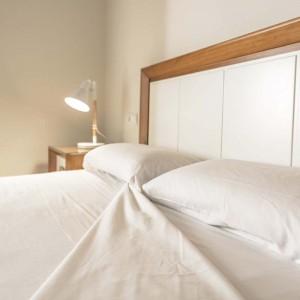 Countertop sheet 100%. 140 GR / M2. White, cotton
