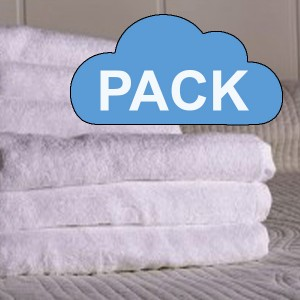 Pack of towels, 450gr